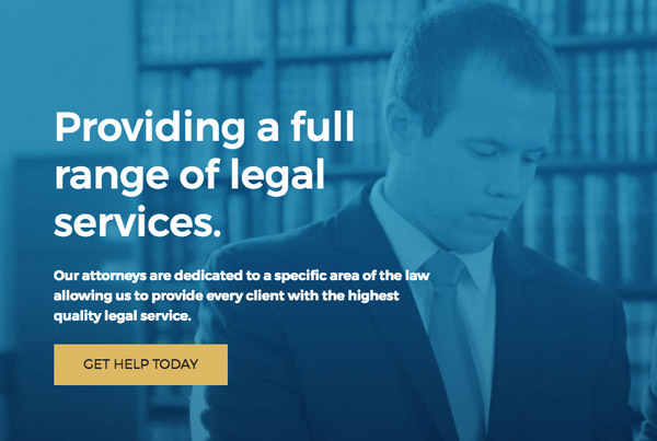 Richardson Law Firm Website
